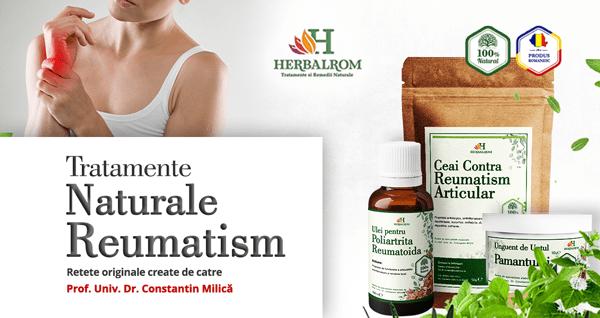 Reumatism: simptome si tratament naturist
